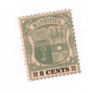 Mauritius #105 MH - Stamp CAT VALUE $4.50