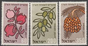 Israel #162-4  MNH  (K802)