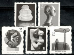 3857-3861 Isamu Noguchi Set Of 5 Mint/nh FREE SHIPPING (A-388)