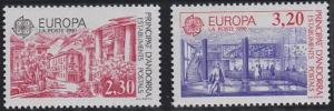 Andorra - French Issues 391-392 MNH (1990)