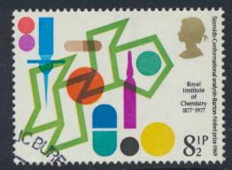 Great Britain  SG 1029 SC# 806 Used / FU with First Day Cancel - Chemistry