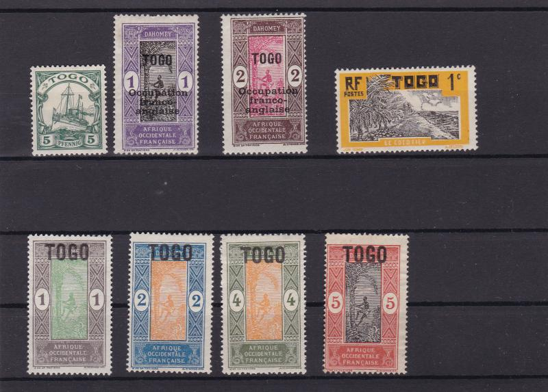 togo mounted mint stamps ref r15144