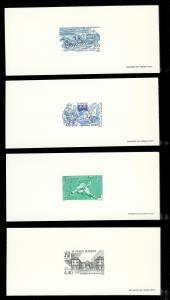 FRANCE (4) Different Deluxe Sheets All MINT NEVER HINGED Lot 9 of 19