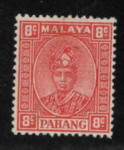 MALAYA-Pahang Scott 34A MH* Rose Red 1941 stamp