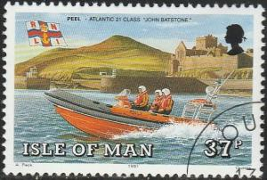 Isle Of Man, #467 Used From 1991