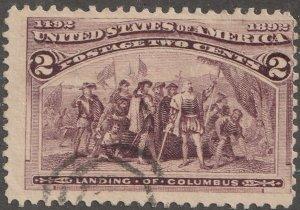 USA stamp,, Scott# 231, used, single stamp, #231