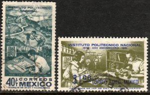 MEXICO 923, C261, 25th Anniversary Natl. Polytechnic Inst USED (1033)