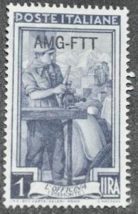 DYNAMITE Stamps: Trieste Scott #91 - UNUSED