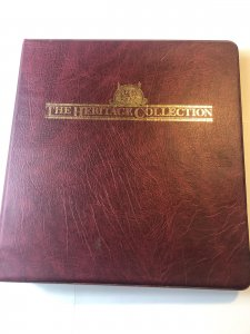 The Heritage Collection President Stamps From 29th to 38th Complete Book