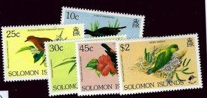 Solomon Islands SC#678-682 MNH VF...Worth a Bid!