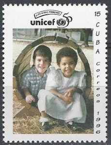 Cuba 3772   MNH UNICEF 50th Anniversary 1996