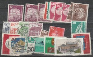 Germany Used Bundepost lot#20-01-02-1