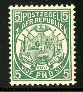 Transvaal Stamps # 35 VF OG NH Signed Scott Value $7,500.00