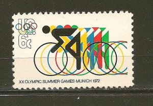 USA 1460 Olympics Bicycling MNH