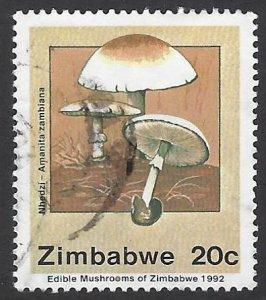pb3352 Zimbabwe 658 used bin $.50