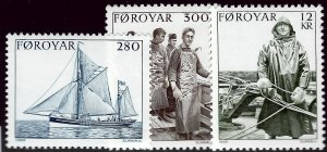 Faroe Islands SC#112-14 Mint VF SCV$6.25...Faroe Islands are Magical!