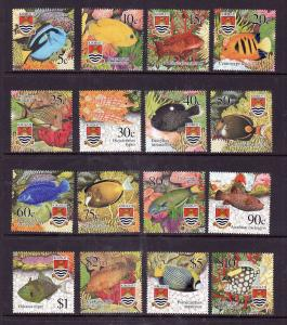 Kiribati-Sc#788-803-Unused NH set-Marine Life-Fish-2002-
