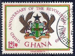Ghana ~ Scott # 353 ~ Used