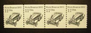Scott 2131, 11 cent Stutz Bearcat, PNC4, #4, MNH beauty