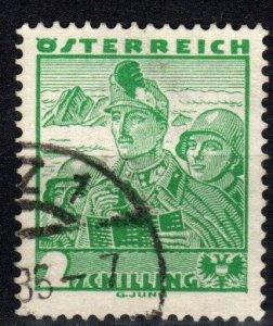 Austria #373 F-VF Used CV $3.50 (X2489)