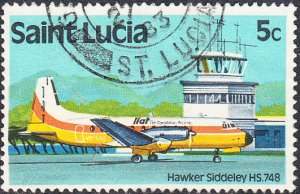 St. Lucia    #504    Used