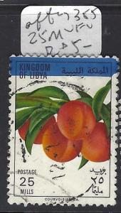 LIBYA     (P0809B)   FRUIT  AFTE SC 355  25M  VFU