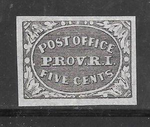 #10x1 MNG SINGLE 1898 POSTMASTER'S PROVISIONAL REPRINT