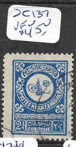 SAUDI ARABIA (PP1802B)  SC 137   VFU