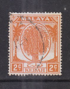 Malaya Kedah 1950 sc 62 2c Used