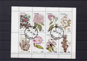 Staffa Scotland  popular plants & flowers stamps sheet1972  ref R40