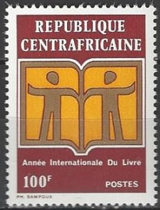 Central Africa 156  MNH  International Book Year