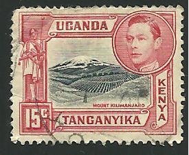 Kenya, Uganda, Tanzania #72, Mt. Kilimanjaro, Used**