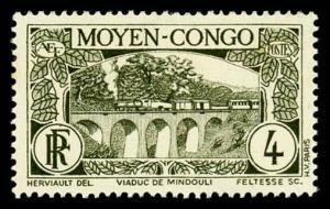 Middle Congo 67 Unused (MH)