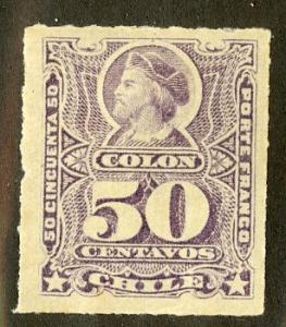 CHILE 34 MH SCV $55.00 BIN $22.50 PERSON