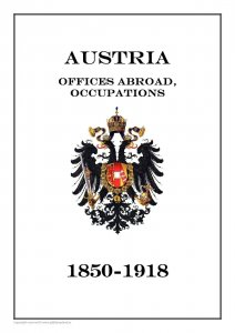 Austria offices abroad, occupation 1850-1918  PDF(DIGITAL) STAMP ALBUM PAGES
