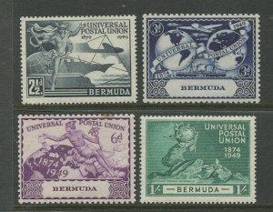 STAMP STATION PERTH Bermuda #138-141 UPU Issue MVLH
