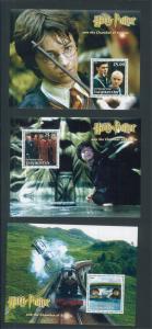 Tajikistan Commemorative Souvenir Stamp Sheet - Harry Potter Chamber of Secrets