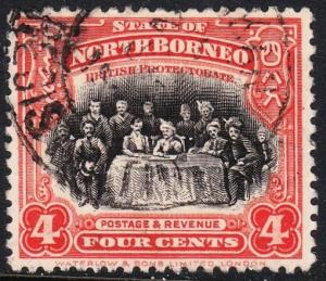 North Borneo 170 -  FVF used