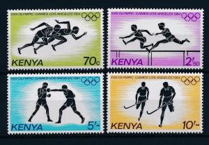 [55376] Kenya 1984 Olympic games Los Angeles Athletics Boxing Hockey MNH