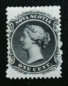 Stamp Nova Scotia Sc# 8 Mint Hinged (SG 18)
