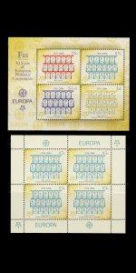 FIJI. 50th ANNIVERSARY EUROPA (CEPT) FIRST STAMP. SCOTT # 1050 - 53