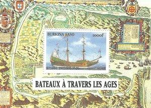 Burkina Faso 1134   SS   Mint NH VF 1999 PD