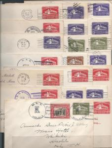 Washington Bicentennial Stationery, Entires & Wrappers