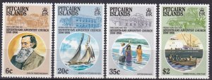 Pitcairn Islands #277-80  MNH  CV $7.50 (Z6130)