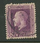 New Zealand  SG 422  Used     short perfs