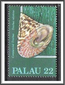 Palau #104 Sea Shells MNH