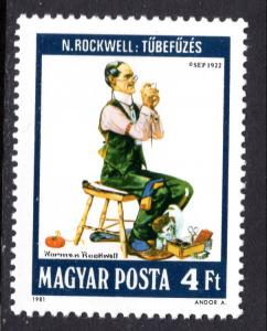 Hungary 2719 Norman Rockwell Painting MNH VF