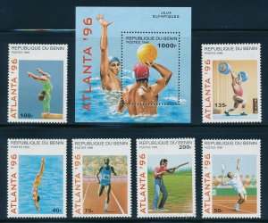 Benin - MNH Atlanta Olympic Games Sports Set Water Polo (1996)