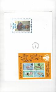Bahamas FDC International Year of the Child 1979 Official Cachet