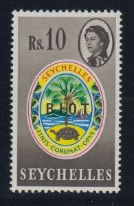 British Indian Ocean Territory, SG 15b, MNH No Stop After I variety